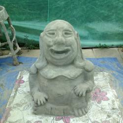 Bouddha, face
