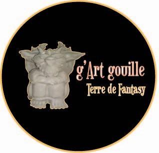 G'art gouille, atelier de création de sculptures en céramiques, terre cuites pour maison et jardin. Art fantastique, gargouille, dragon, licorne, gobelin etc.